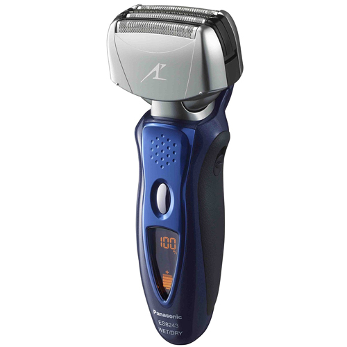 Panasonic ES8243A Electric Shaver Wet/Dry with Nanotech Blades for Men