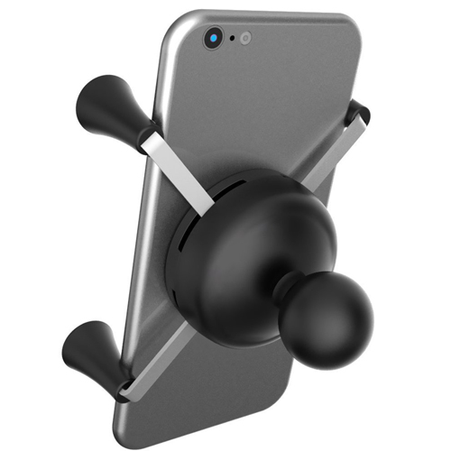 Ram Mount Cradle Holder for Universal X-Grip Cellphone/iPhone With 1-Inch Ball (Black)