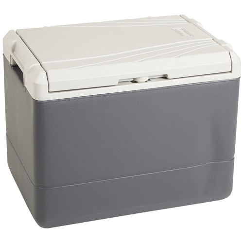 Coleman 40 quart Powerchill with car adapter
