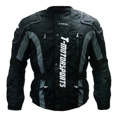 TMS Enduro Armor Jacket Motorcycle Touring Dual Sport Dirt Bike ATV