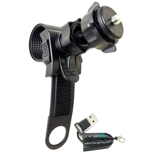 ChargerCity Swivel Adjustment Bike Camera Mount
