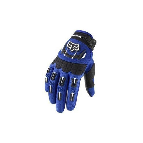 Fox Racing Dirtpaw Men's Off-Road/Dirt Bike Motorcycle Gloves - Color: blue, Size: Medium