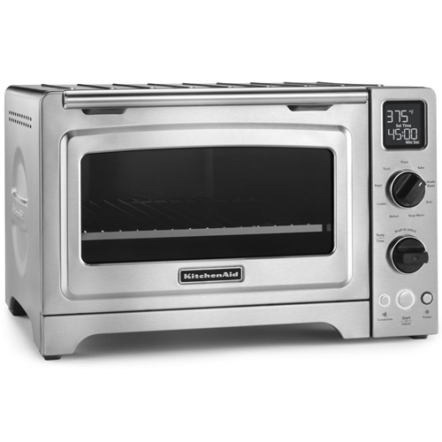 """KitchenAid KCO273SS 12"""" Convection Bake Digital Countertop Oven - Stainless Stee"""