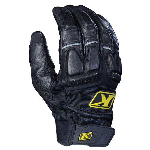 Klim Adventure Men's Dirt Bike Motorcycle Gloves - Black/Tan/X-Small