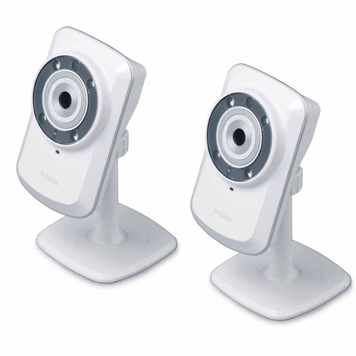 2 Pack D-Link DCS-932L Wireless Day/Night Cloud Network Camera
