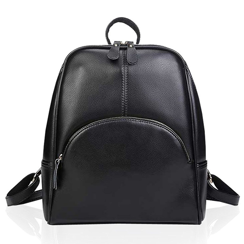 Womens Vintage Style Top Layer Cow Leather Backpack Shoulder Bag