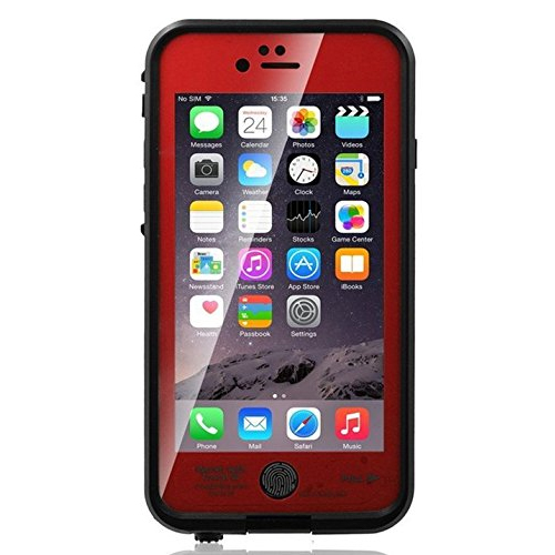 Waterproof case for iPhone 6 Plus, Shokk Fun series