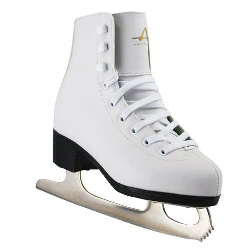 American Athletic Shoe Girl's Tricot Lined Ice Skates