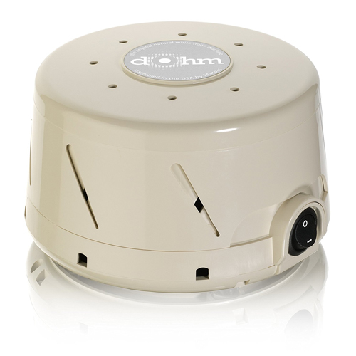Marpac Dohm-SS Single Speed All-Natural White Noise Sound Machine, Actual Fan Inside