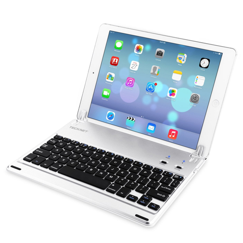 TeckNet X360 Ultra-Thin Apple iPad Air Bluetooth Keyboard