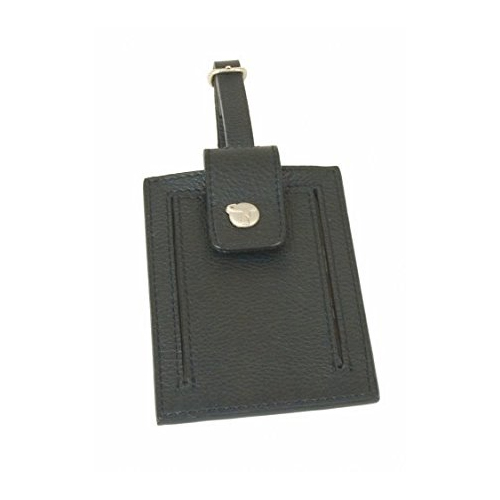 Travel on Leather Luggage Tag