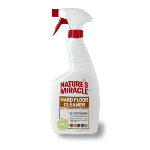 Advanced Dual-Action Hard Floor Stain & Odor Remover