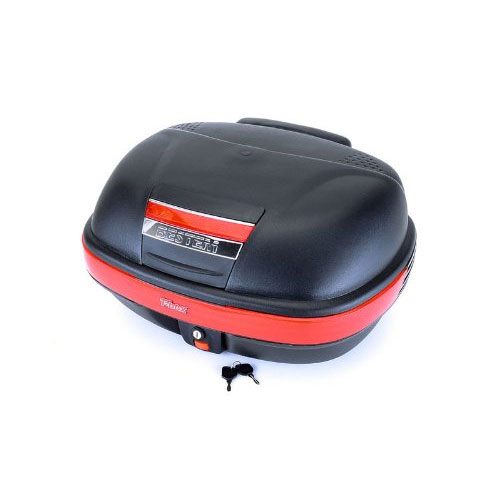 Bestem T-Box TBOX-929-BLK Black Motorcycle/Scooter Flat Top Box