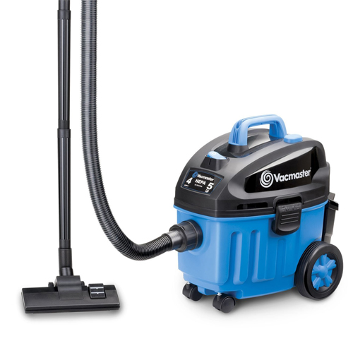 Vacmaster 4 Gallon, 5 Peak HP with 2-Stage Industrial Motor Wet/Dry Floor Vacuum