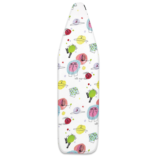 Whitmor 6325-833 Deluxe Ironing Board Cover and Pad With Elements Design
