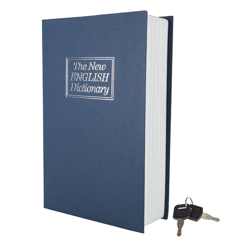 Stalwart Diversion Dictionary Book Safe w/ Key Lock