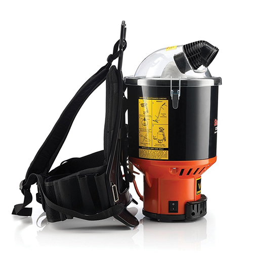 Hoover Commercial C2401 Shoulder Vac Pro Backpack Vacuum with 1-1/2-Inch Attachment Kit