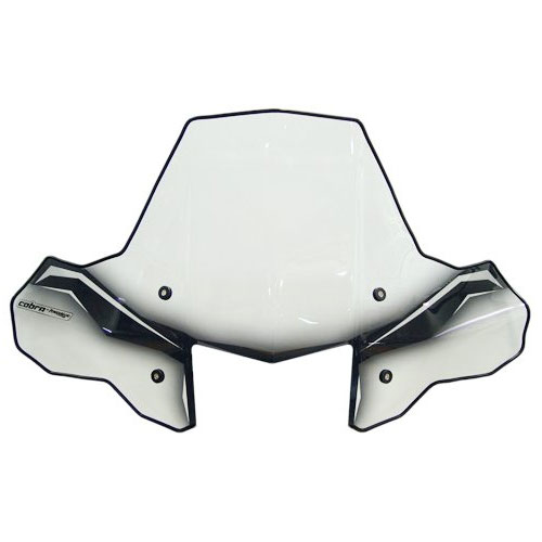 PowerMadd 24570 ProTEK Windshield for ATV - Standard Mount