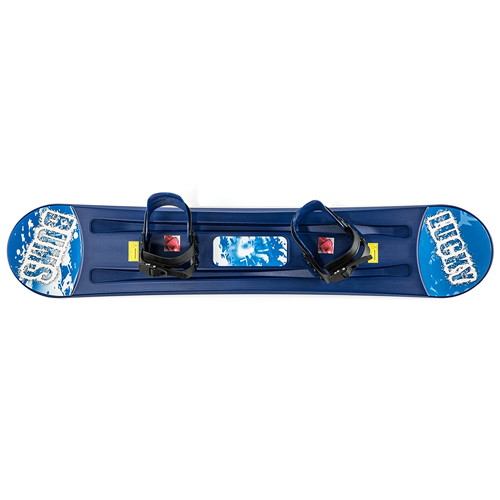 Lucky Bums Plastic Snowboard In Bright Blue