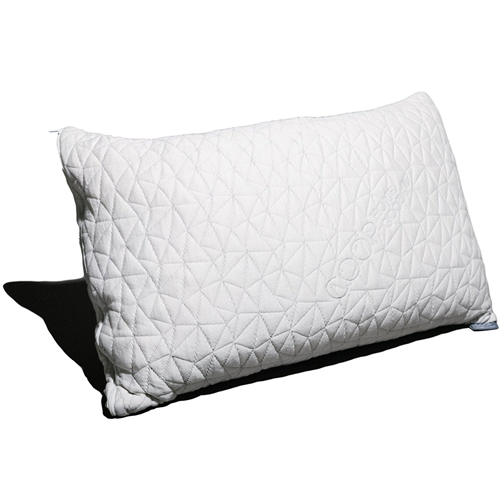 Adjustable Shredded Memory Foam Pillow with Viscose Rayon Cover