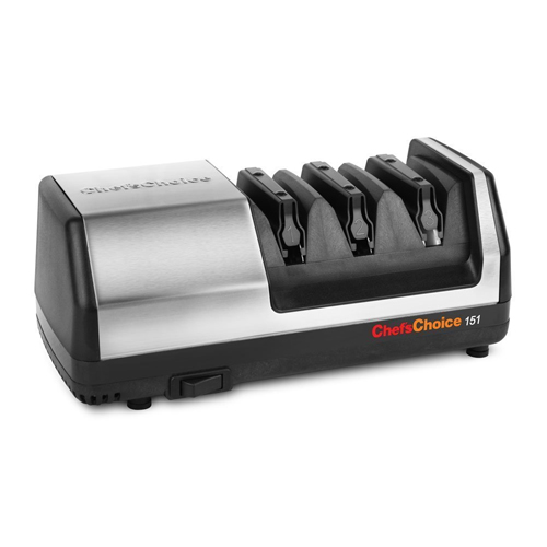 Chef's Choice Model 151 Stainless Steel Universal Electric Knife Sharpener
