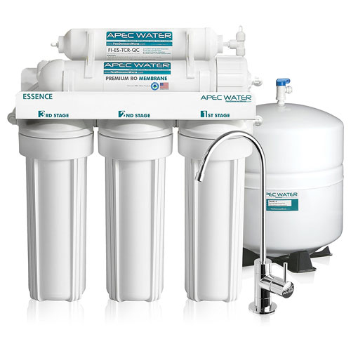 APEC Top Tier 5-Stage Reverse Osmosis Drinking Water Filter System