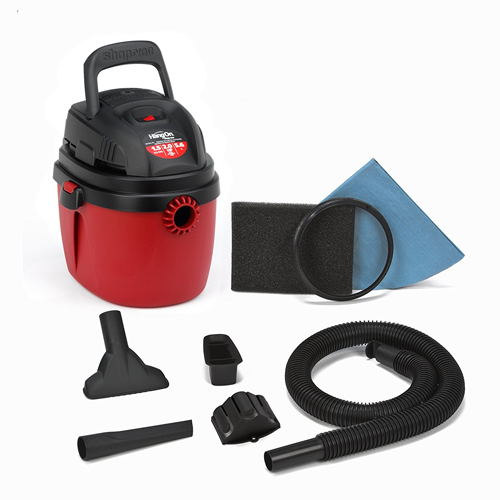 Shop-Vac 2030100 1.5-Gallon 2.0 Peak HP Wet Dry Vacuum
