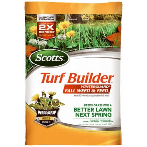 Scotts Turf Builder Lawn Food - WinterGuard Fall Weed & Feed, 5,000-sq ft