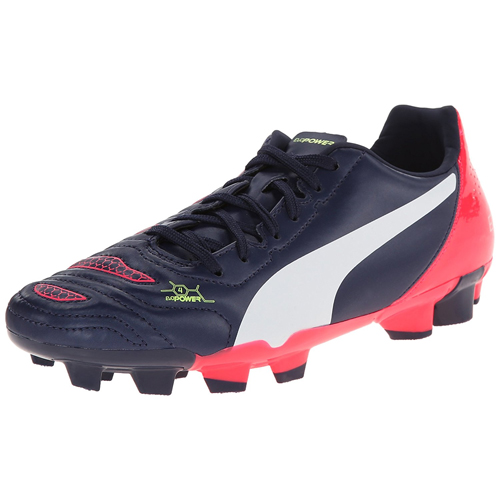 PUMA -evoPOWER 4.2 Firm Ground Jr Soccer Shoe