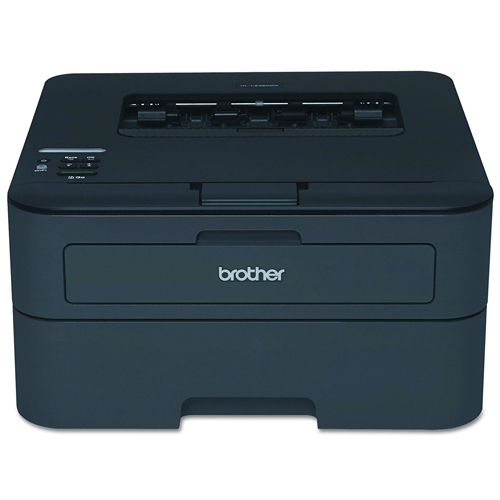 Brother HL-L2340DW Compact Laser Printer, Monochrome, Wireless, Duplex Printing