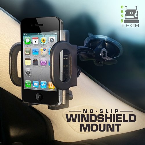 2-in-1 Mobile Phone Car Mount