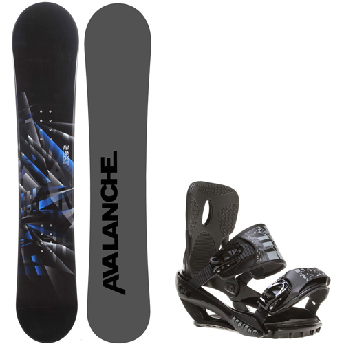 Avalanche Source 158 Men's Snowboard + Sapient Stash Bindings - Fits Boot Sizes: 8,9,10,11