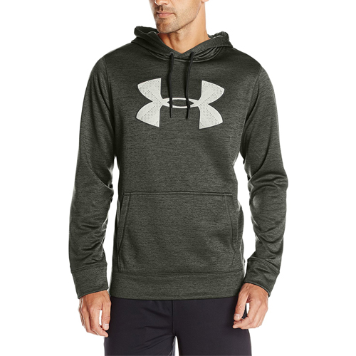 The UA Men's Storm Armour Fleece Twist Hoodie