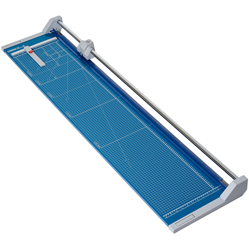 "Dahle 558 Professional Rolling Trimmer, Up to 12 Sheet Capacity, 51 1/8"" Cut Length"