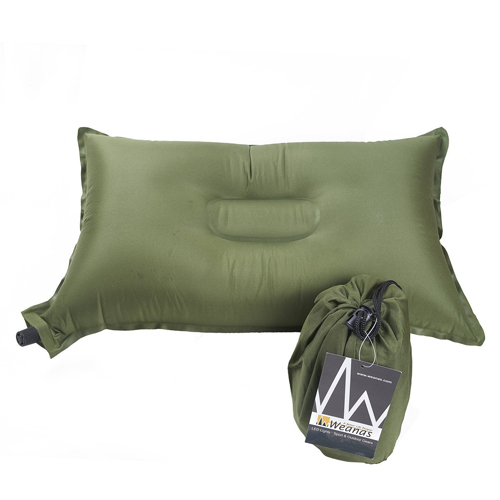 Weanas Lightweight Compressible Recreation Self Inflating Air-Pillow