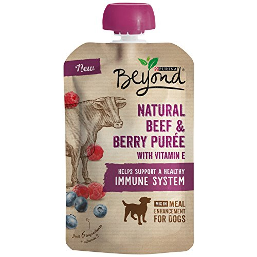 Purina Beyond Natural Purée Meal Enhancement for Dogs- 3.2 oz. Pouch