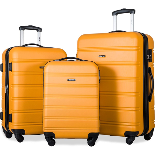 Merax Travel house Luggage 3 Piece Expandable Spinner Set