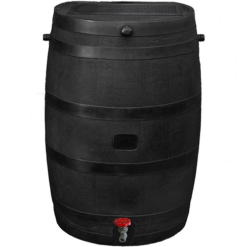 RTS Home Accents 50-Gallon ECO Rain Water Collection Barrel
