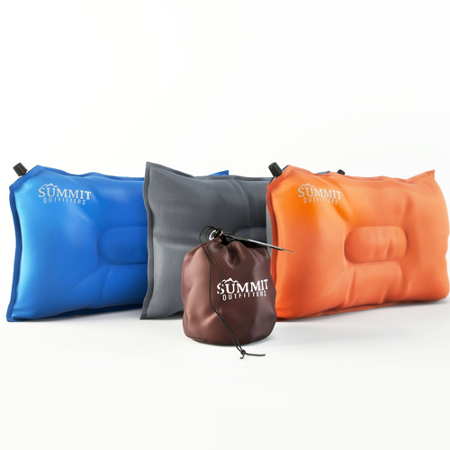 Summit Outfitters Camping Pillow Inflatable Compressible Self Inflating Summit Outfitters Air Pillow