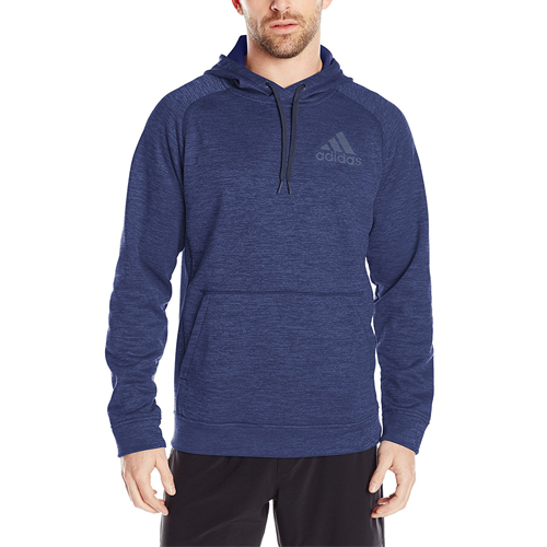 The Adidas Performance Men's Team Issue Fleece Pullover Hoodie