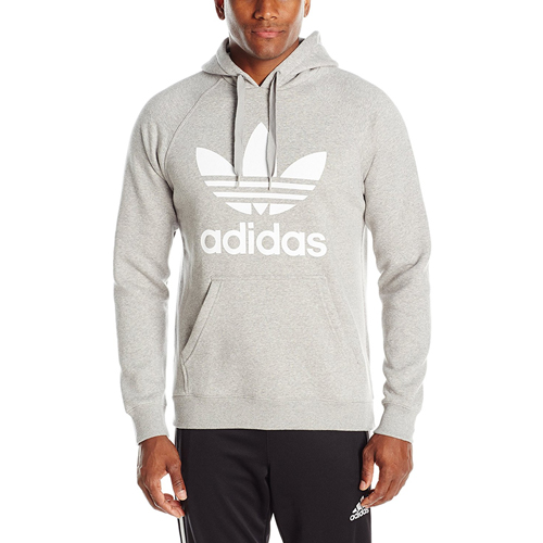 The Adidas Originals Men's Trefoil Hoodie