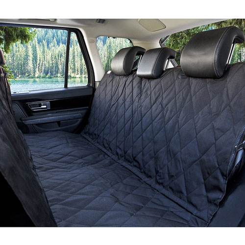BarksBar Luxury Pet Car Seat Cover With Seat Anchors for Cars