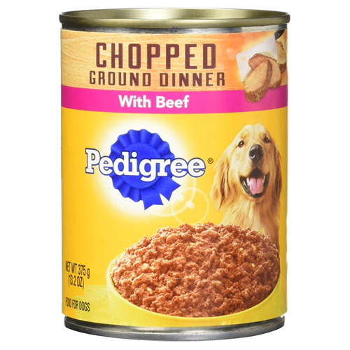 PEDIGREE Chopped Ground Dinner Multipack Filet Mignon & Beef Dog Food