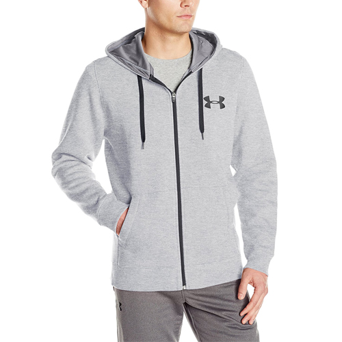 The UA Men's Rival Fleece Zip Hoodie