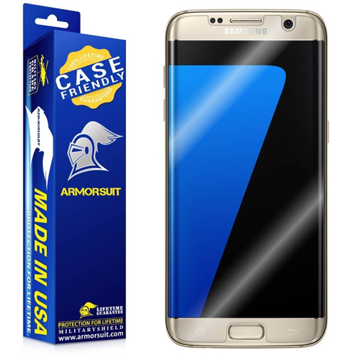 Samsung Galaxy S7 AmourSuit Military Shield S7 Edge Screen Protector