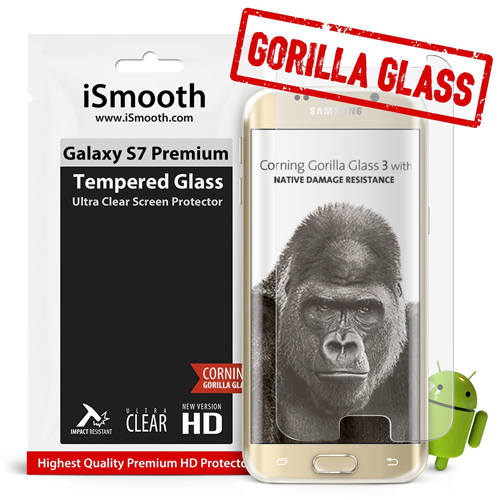 S7 Screen Protector Premium Gorilla Glass