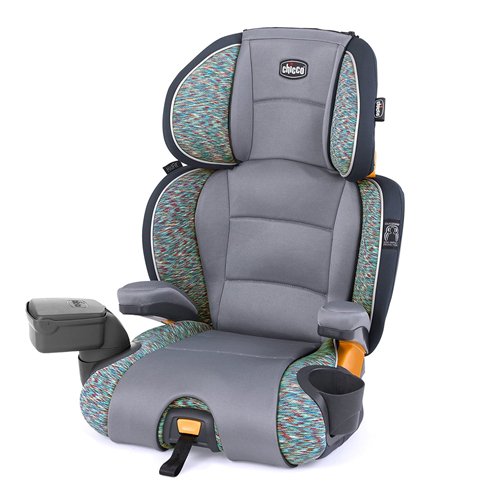 Chicco KidFit Zip 2-in-1 Belt Positioning Booster Seat, Privata