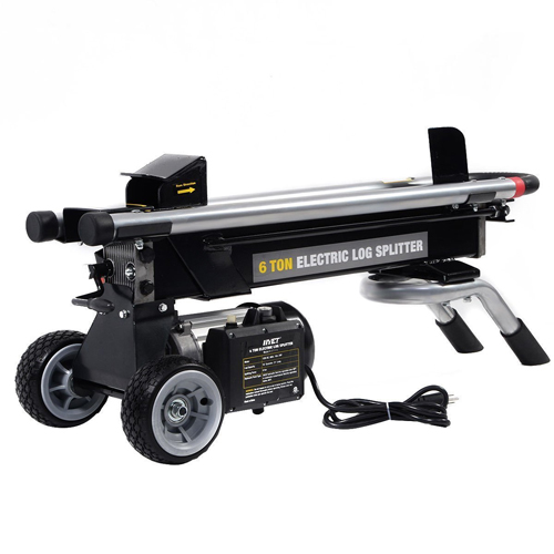Goplus New Electric Hydraulic Log Splitter