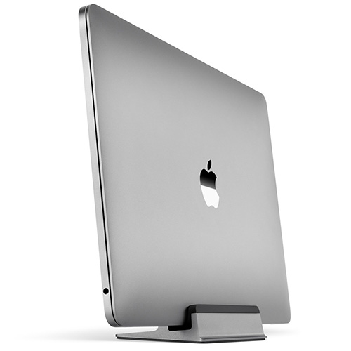 UPPERCASE KRADL Small Profile Space Saving Aluminum Vertical Stand for MacBook Pro