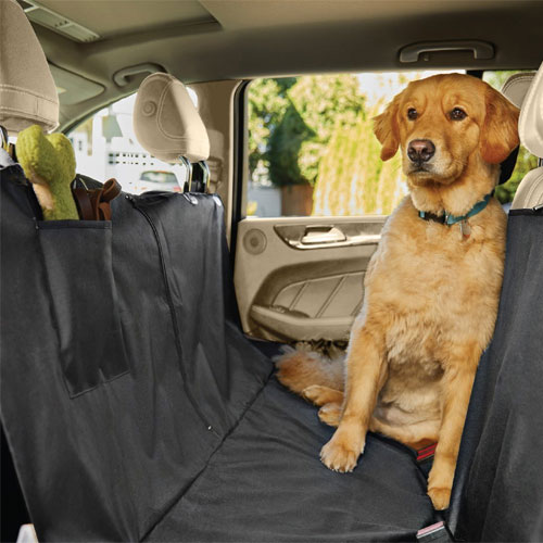 The Original GORILLA GRIP (TM) Non-Slip Pet Car Seat Protector for Pets